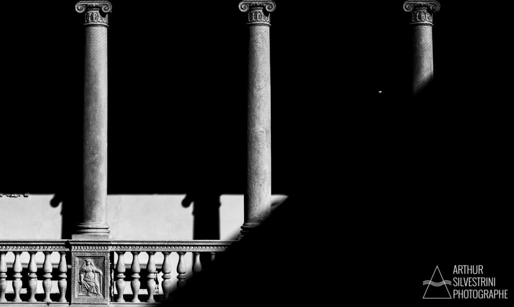 italie padoue colonnes pierre