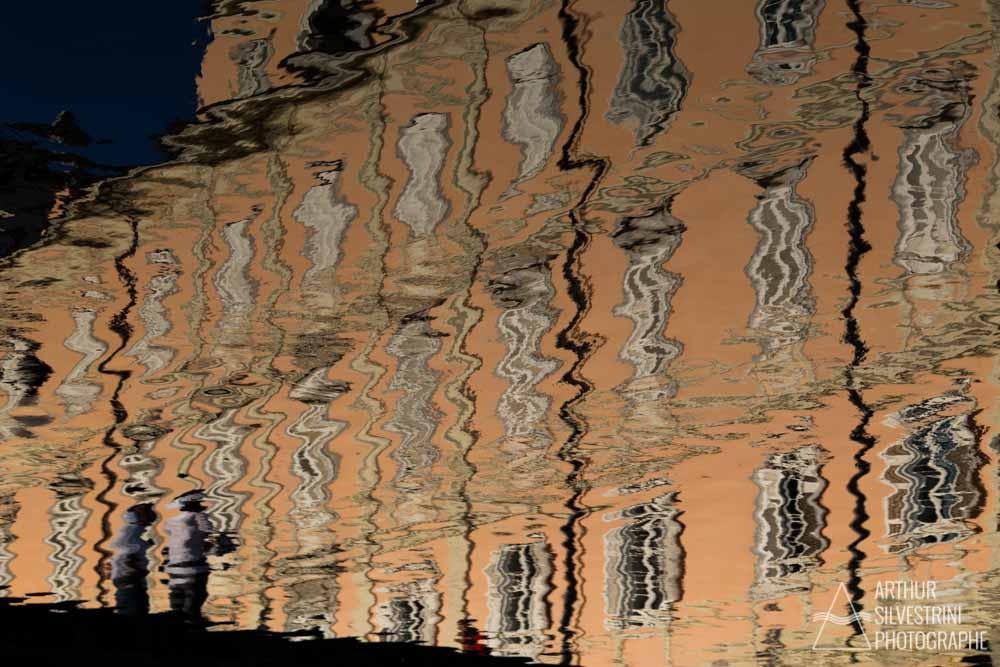 italie trieste reflet bâtiment eau