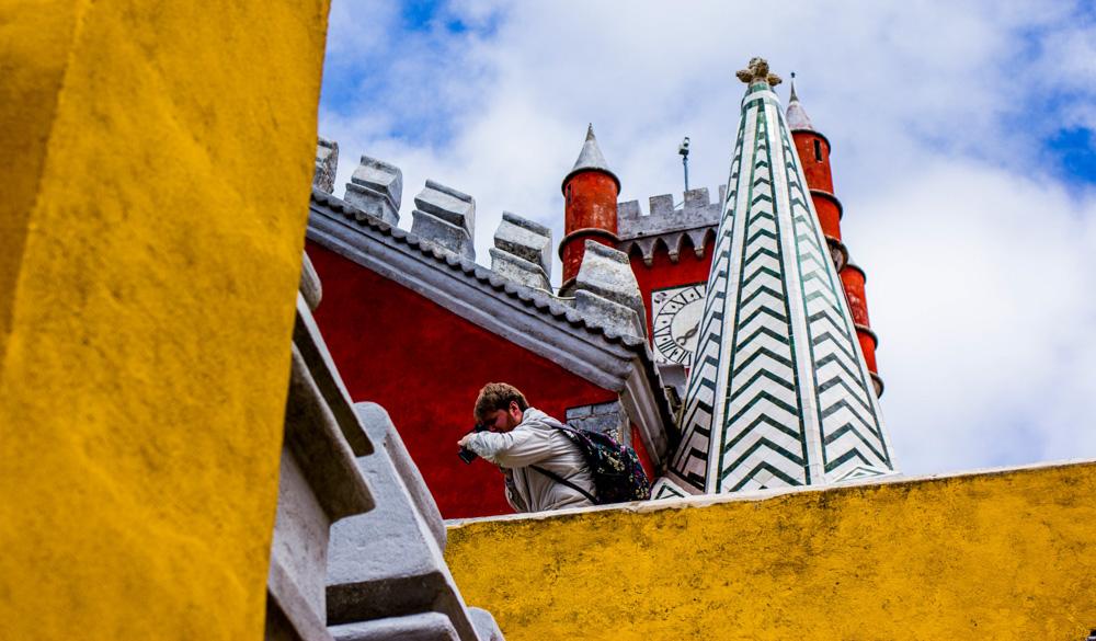 portugal sintra palais de pena photographe