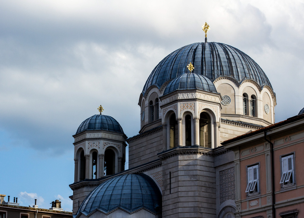 trieste italie église serbe orthodoxe