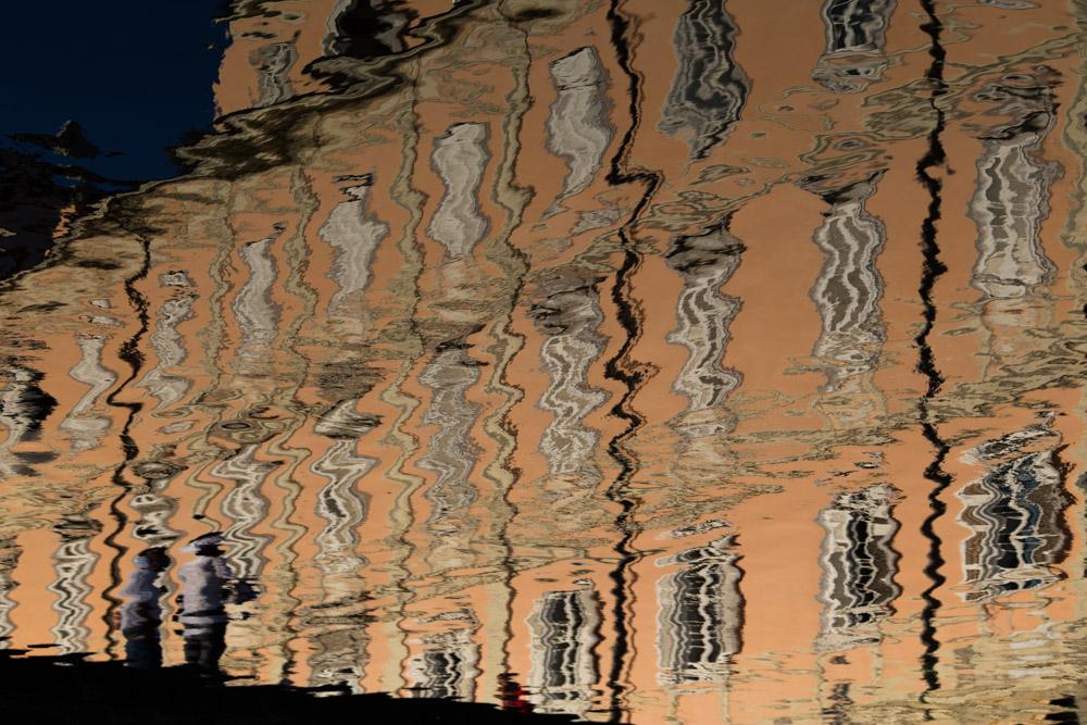 trieste canale grande reflet eau